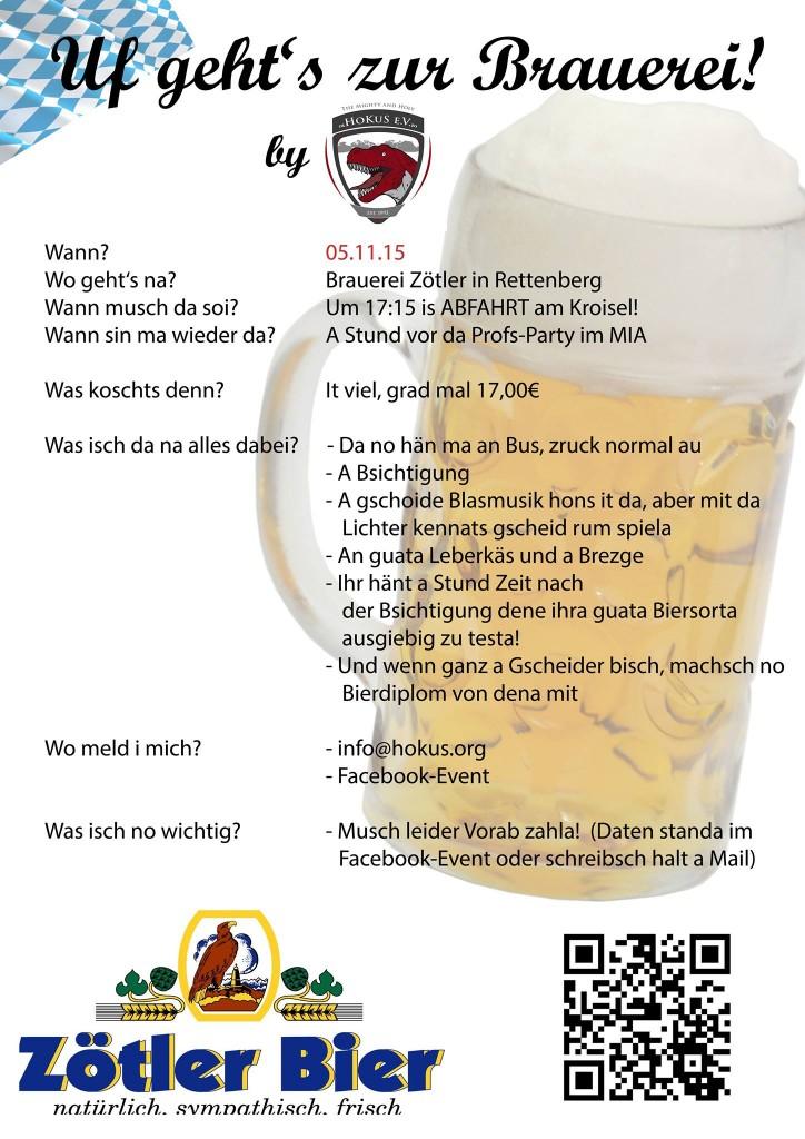 Brauereibesichtigung 2015