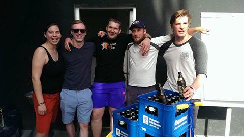 Die Sieger der Bierolympiade 2016