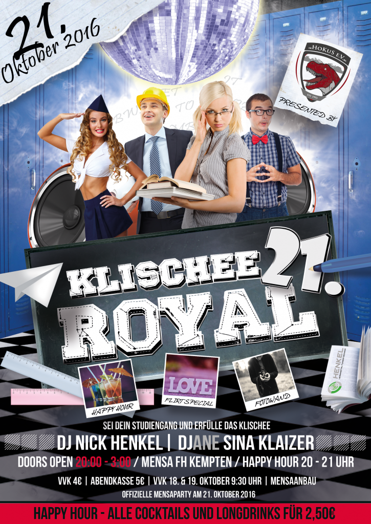 Klischee Royal Plakat