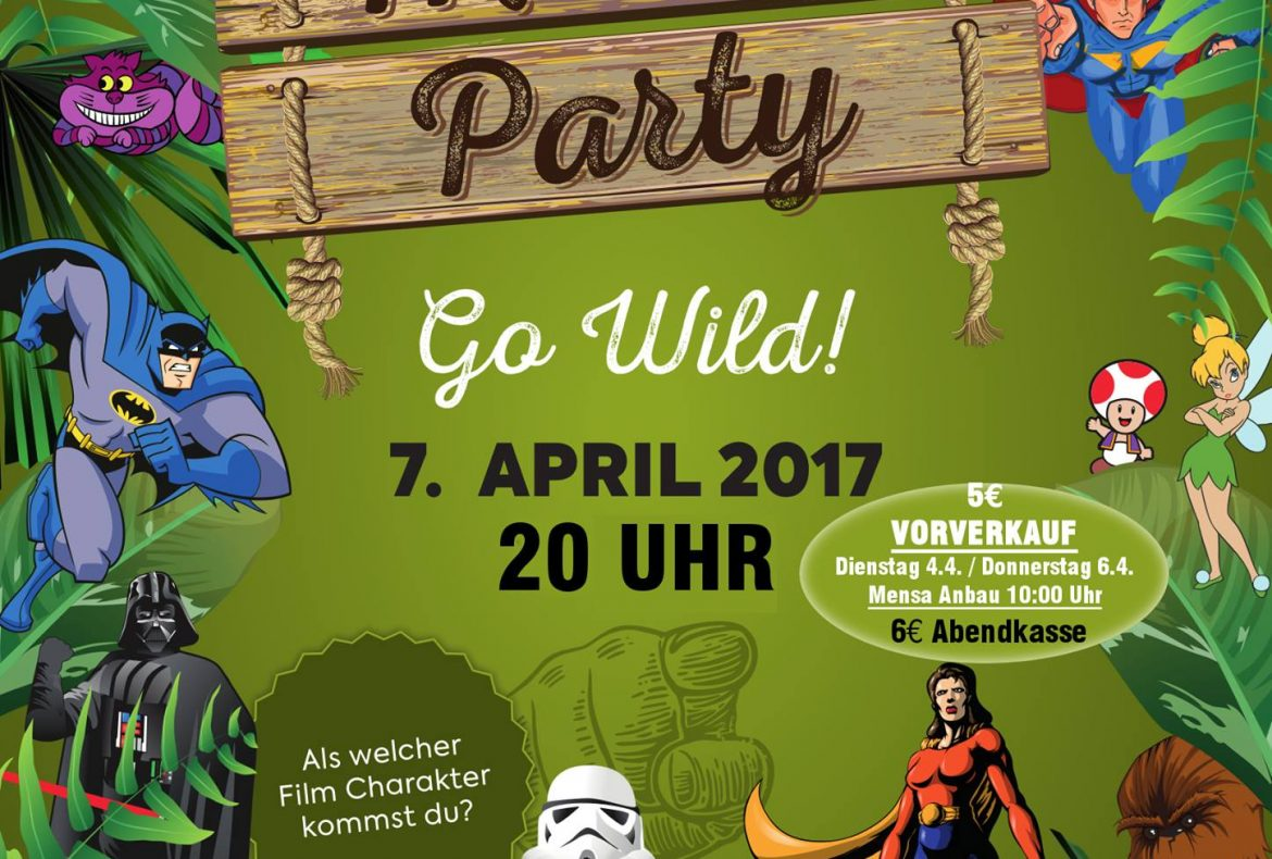 Go Wild! Mensaparty 2017