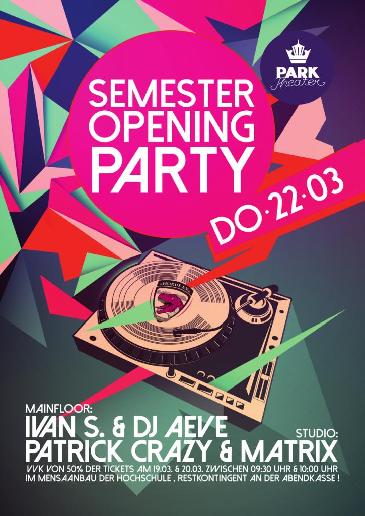 Semester Opening SoSe 2018